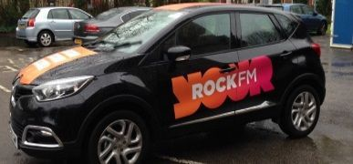 Prestons Rock FM Fleet Car Branded