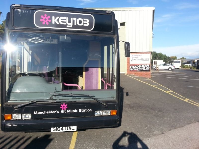 Leaving Roadshow Promotions depot