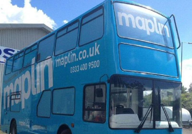 Maplin Electronics Promotional Bus