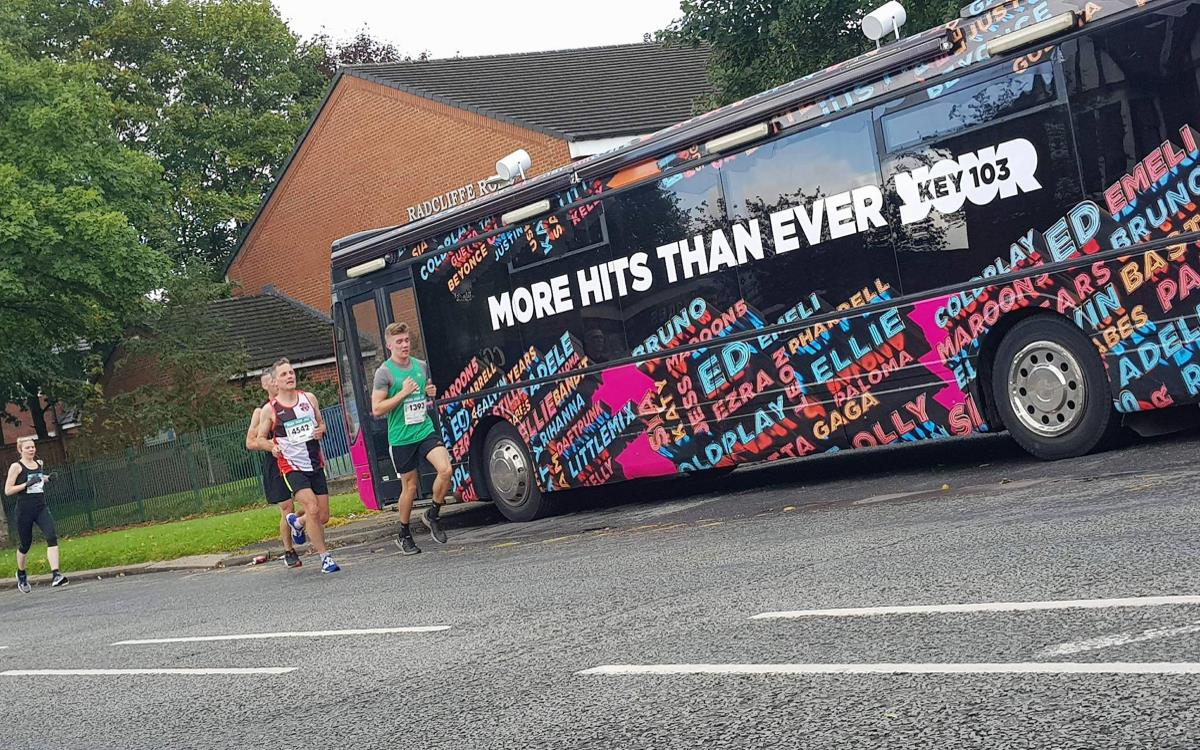 Key 103 Bus Great Manchester Run 2017