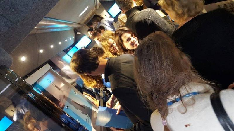 Medtronic Exhibition Bus Packed out