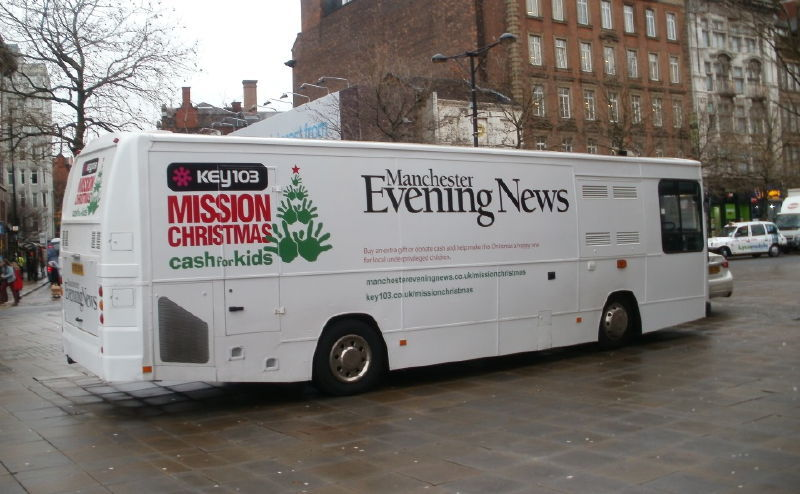 Manchester Evening News Exhibition Bus
