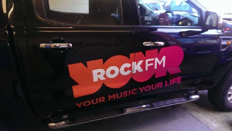 Preston Rock FM Car Re Branded with latest Livery