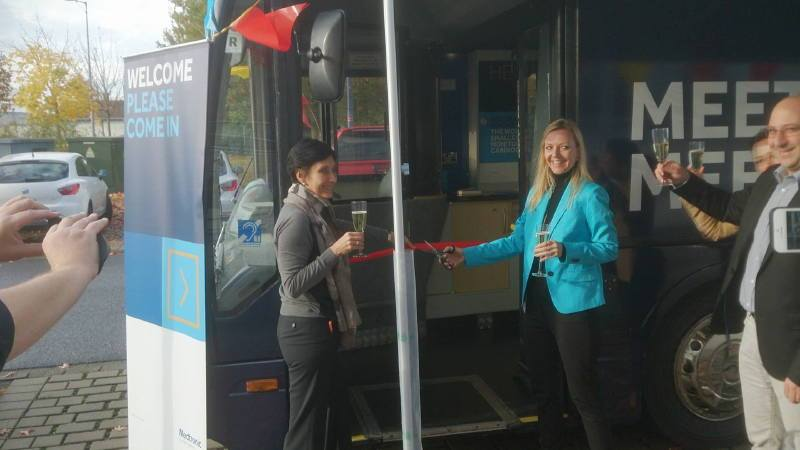 Soft Launch of Millie the Medtronic Exhibition Bus in Germany