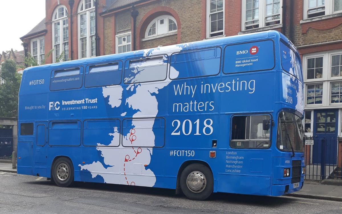 F & C Investments Educational Bus Tour